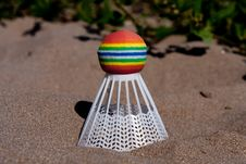 Free A Shuttlecock Royalty Free Stock Image - 16741946