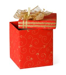 Free Red Gift Box Stock Photo - 16743520