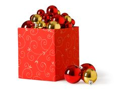 Free Red Gift Box Royalty Free Stock Photography - 16743627
