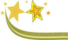 Free Yellow Star Royalty Free Stock Photos - 16743788