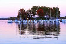 Free Purple Sunset Stock Images - 16743874