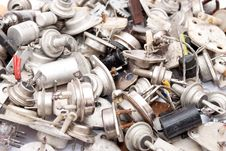 Free Old Radio Components Royalty Free Stock Photo - 16744015