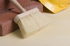 Free Stonemason Brush Stock Image - 16744441