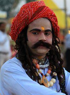 Free Rajasthani Man Royalty Free Stock Photo - 16744875