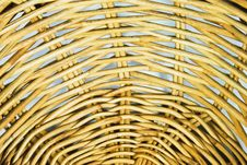 Pattern Of Weave Basket Royalty Free Stock Photo