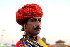 Free Festival Man Looks Royalty Free Stock Photos - 16745248