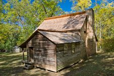 Free Pioneer House On Cades Cove Trail Stock Photography - 16745622