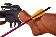 Crossbow Close-up Royalty Free Stock Image