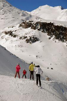 Free Skiing Royalty Free Stock Photo - 16746015