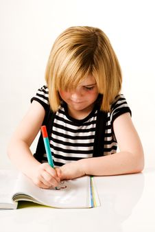Free Child Drawing Stock Photos - 16746643