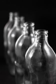 Free Empty Bottles Royalty Free Stock Images - 16746739