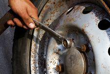 Free Wheel  Car  Hand  Key Royalty Free Stock Photos - 16746968