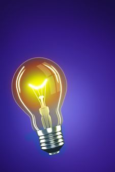 Free Light Bulb Royalty Free Stock Photography - 16747077