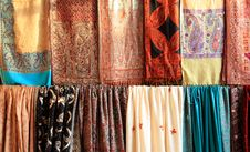 Free Indian Clothes Background Stock Images - 16747134