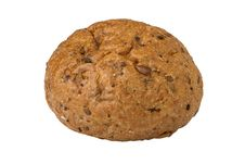Diet Muffin Of Eight Cereals Royalty Free Stock Photography