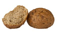 Diet Muffin Of Eight Cereals Stock Photo