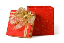 Free Red Gift Box Stock Photos - 16747483