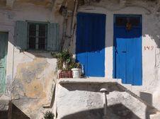 Free Blue Door Stock Images - 16747984