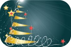 Free Christmas Tree Background Stock Photo - 16748000