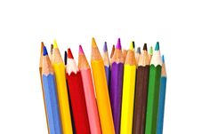 Free Colorful Pencils On Focus Stock Photography - 16748182