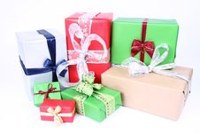 Free Christmas Gifts Royalty Free Stock Image - 16748326