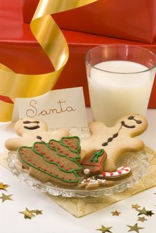 Free Christmas Cookies. Royalty Free Stock Photography - 16748407