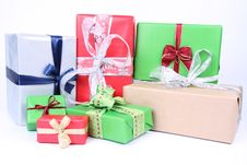 Free Christmas Gifts Stock Photography - 16748432