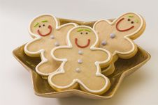 Free Christmas Cookies. Royalty Free Stock Photo - 16748695