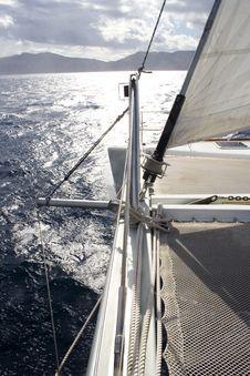 Free Catamarans Bow Stock Photo - 16748820