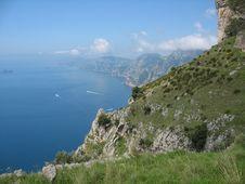 Free Sentiero Degli Dei - Costiera Amalfitana Stock Images - 16749294