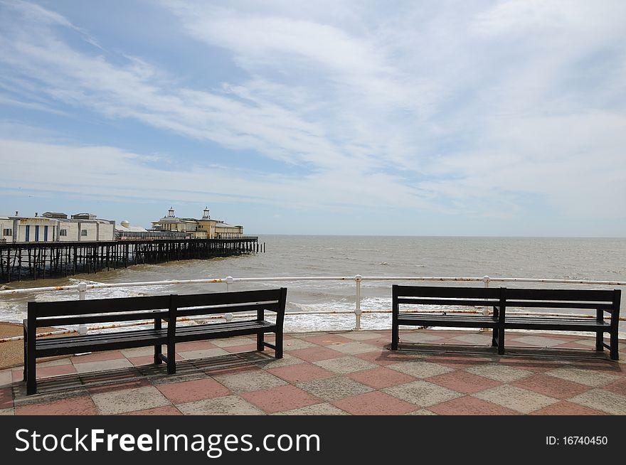 Hastings pier, Sussex