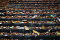 Free Background Of Fallen Autumn Leaves On Stairs Royalty Free Stock Photo - 16752765