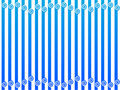 Free Pattern Of Vertical Stripes Royalty Free Stock Photography - 16759057
