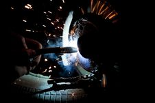 Free Welder Royalty Free Stock Photography - 16750327