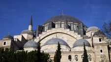 Free Dome Of Suleymaniye Mosque, Istanbul. Stock Photo - 16750560