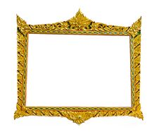 Free Picture Gold Frame Stock Photography - 16750862