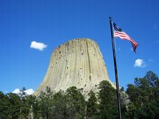 Free Devils Tower Stock Photos - 16751333