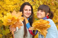 Free Autumn Portrait Royalty Free Stock Photography - 16752107