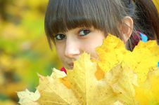 Free Autumn Portrait Stock Photography - 16752122