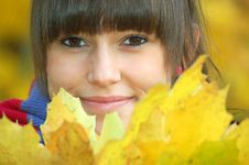 Free Autumn Portrait Royalty Free Stock Photography - 16752147