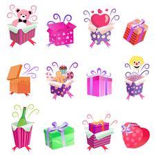 Free Gift Box Stock Photo - 16752650
