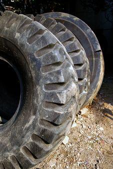 Free Black Tires Royalty Free Stock Image - 16753546