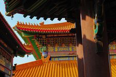 Free Chinese Temple In Thailand Royalty Free Stock Image - 16754696