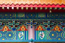 Chinese Temple In Thailand Royalty Free Stock Images