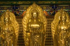 Image Of Buddha In Chinese Temple Stock Images