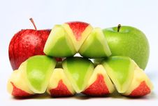 Free Red & Green Apple Stock Photography - 16755062