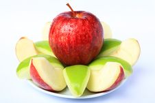 Free Red & Green Apple Stock Photo - 16755130