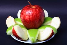 Free Red & Green Apple Royalty Free Stock Photos - 16755178