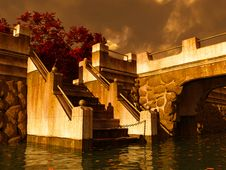 Bridge By Autumn