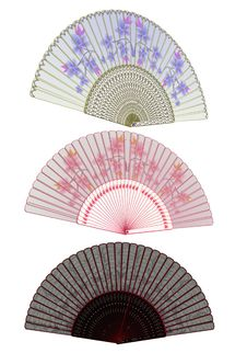 Free Oriental Fans Royalty Free Stock Photos - 16755518